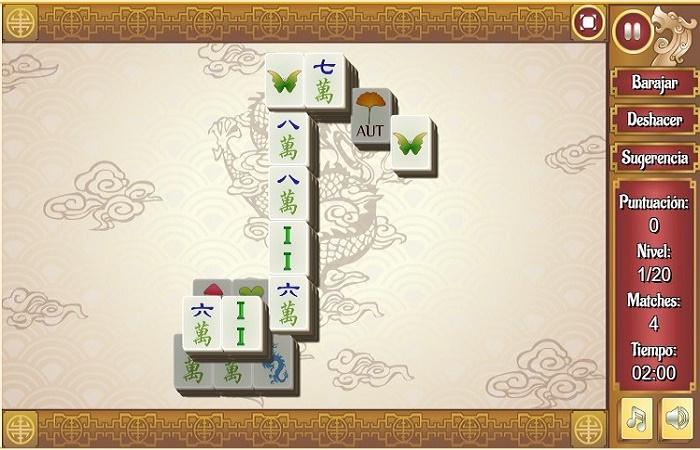 Mahjong gratis el mejor juego de solitario Online 4