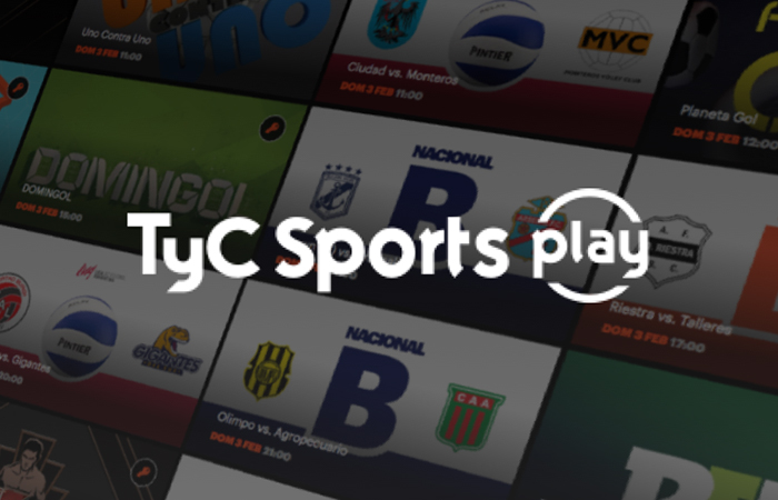 TyC Sports Play en vivo gratis