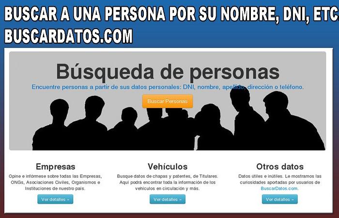 Cómo buscar personas y datos por DNI en Argentina gratis 3