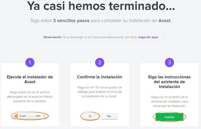 Cómo descargar Avast gratis 2020 4