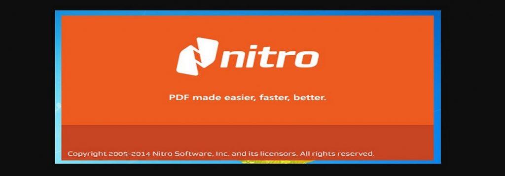 Cómo descargar Nitro PDF gratis .