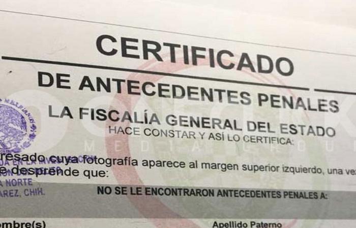 Cómo sacar carta de antecedentes no penales gratis [MEXICO] 2