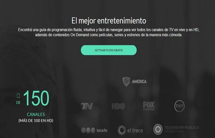 Cómo ver gratis Cablevisión Flow 2