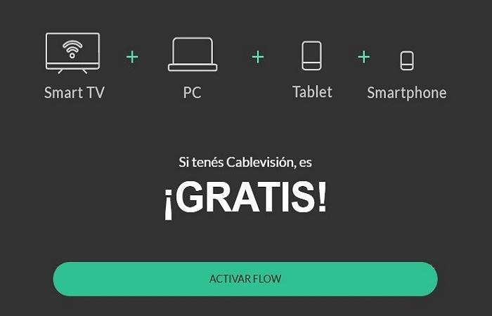 Cómo ver gratis Cablevisión Flow 3