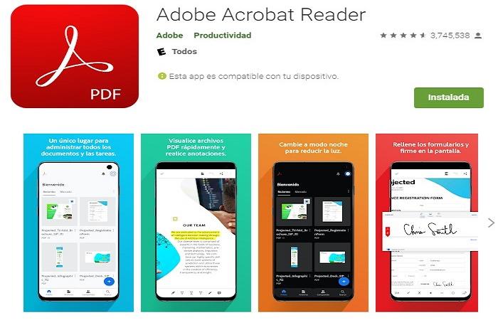El mejor lector de PDF gratis 4