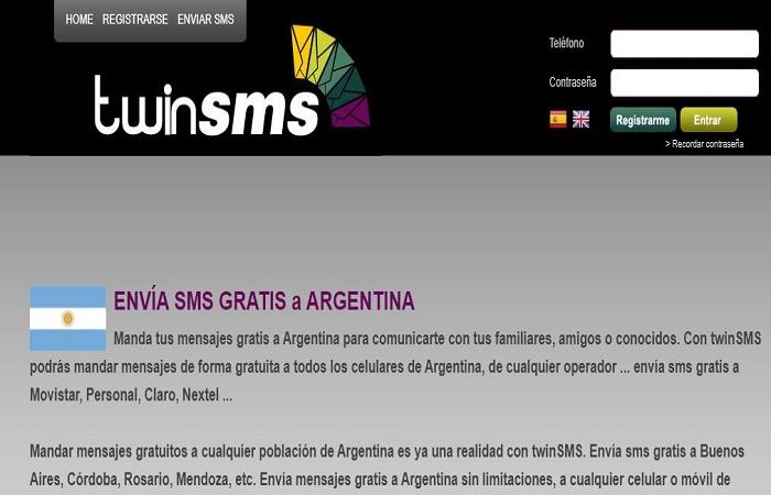 Personal SMS Online GRATIS - Envía mensajes en Argentina 3