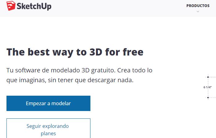 Sketchup gratis - Tutorial, descargar e instalar en español 3