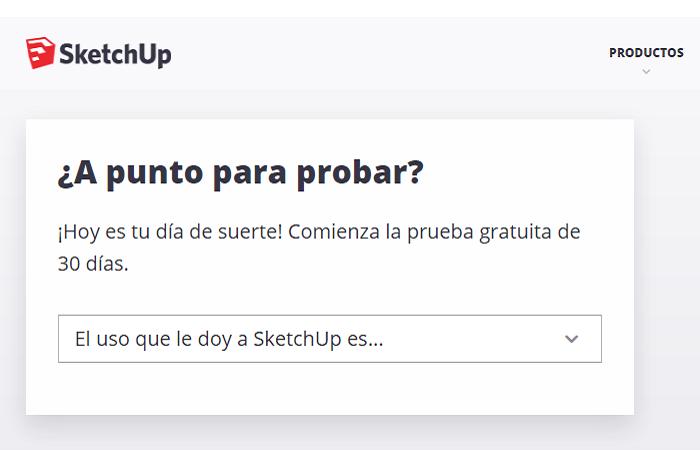 Sketchup gratis - Tutorial, descargar e instalar en español 5