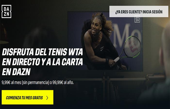 ver tenis gratis en directo y online