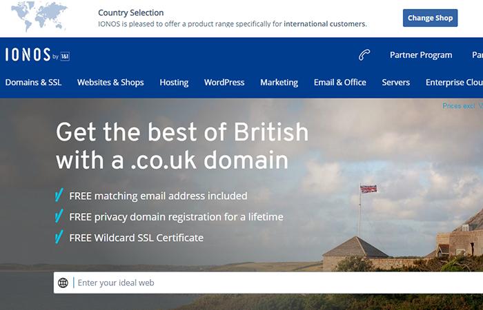 ionos dominio gratis sin hosting