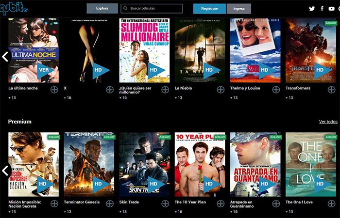 ver Qubit tv de forma gratuita