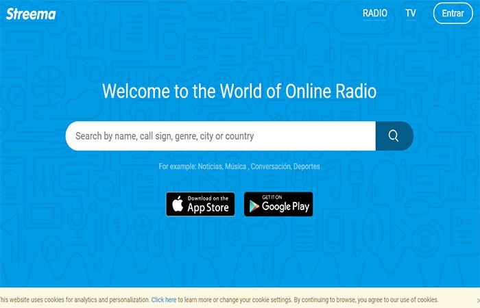 emisoras de radio en vivo por internet